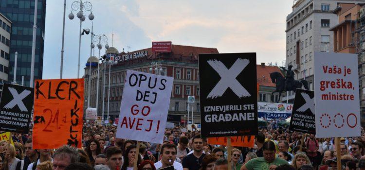 Fine mrtve slobode: glasno NE ugrožavanju prava i sloboda!